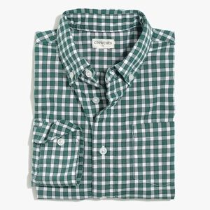 Crew Cuts Flex Patterned Button Down Shirt